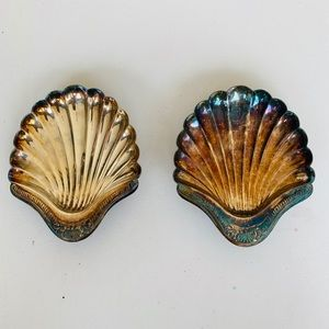 Bellini Vintage Silver Plated Shells